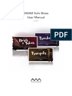 SWAM Solo Brass - User Manual - v1.0.1