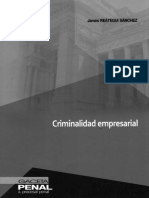 Criminalidad empresarial (James Reategui S.)