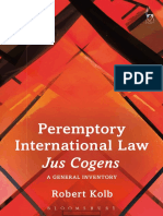 Peremptory International Law - Jus Cogens (A General Inventory) by Robert Kolb.pdf