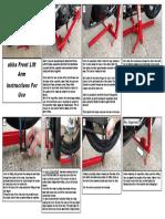 front-lift-arm-instructions