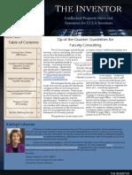 The Inventor - UCLA Newsletter Fall Quarter 09