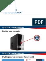 Module 1b - Desktop and File Management