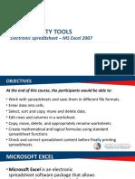 Module 3 - Electronic Spreadsheet 2007.pptx