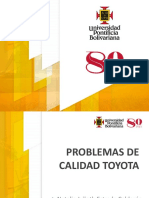Problemas de calidad Toyota