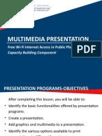 Module 4 - Multimedia Presentation 2010