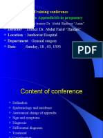 acute appendicitis in pregnancy by shukoor