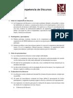 Reglamento de la Competencia de Discursos