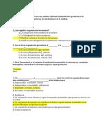 CUESTIONARIO DE ORGANIZACIÓN DOCUMENTAL EN EL ENTORNO LABORAL