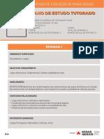 Plano de Estudo Tutorado de Ed. Física Vol. 2