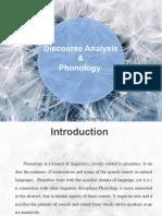 discourse analysis & Phonology
