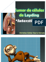Tumor de células de Leyding