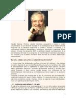 El mal de la civilización es la mente patriarcal -  Claudio Naranjo-1