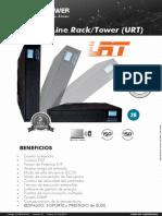10.2.2.Datasheet_D-FEPE-ID-02 UPS Rack-Torre serie URT   3kVA_Plug&Power (Minedu)