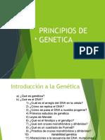 SESION 4. PRINCIPIOS DE GENETICA