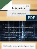Murad Huseynzada Presentation Informatics