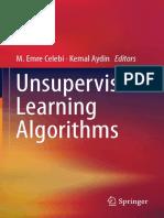 M. Emre Celebi, Kemal Aydin (eds.) - Unsupervised Learning Algorithms-Springer International Publishing (2016)