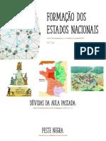 FORMAÇÃO DO ESTADO NACIONAL - PARTE 02