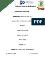 MAPA MENTAL (ISO 9001 2015)