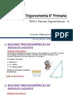 Razones Trigonométricas 6° prim