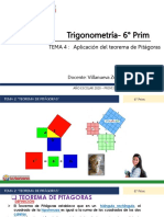 Aplicación del Teorema de Pitágoras  6to prim