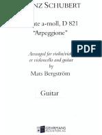 Arpeggione - Guitarra
