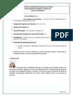 Guia_de_Aprendizaje TALLER GUÍAS DE APRENDIZAJE E INSTRUMENTOS DE EVALUACIÓN