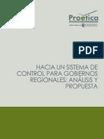 Hacia un sistema de control para Gobiernos Regionales