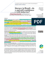 3) Financial Literacy in Brazil – Do Knowledge and Selfconfidence Relate With Behavior