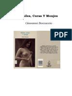 Giovanni Boccaccio - Frailes, Curas Y Monjes