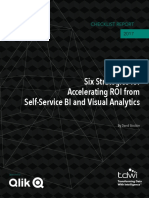 Accelerating ROI from Self-Service BI and Visual Analytics