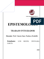 EPISTEMOLOGIA trabajo integrador