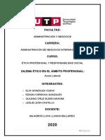 Dilema Ético en el Ámbito Profesional - Acoso Laboral- Grupo 1