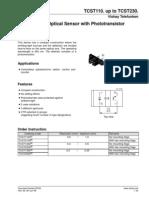 TCST1103 sensor reflexion