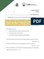 Ejercitación Nº 10 Subordinadas - Integración