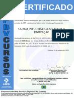 certificado de iinformática