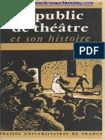 le public du theatre