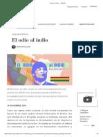 El odio al indio — CELAG.pdf