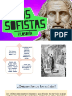 LOS SOFISTAS EXPOSICIÓN