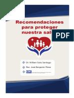 Recomendaciones para proteger nuestra salud