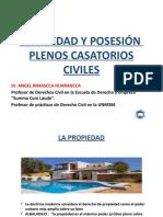 Propiedad, formas de adquisición y tutelas de la propiedad