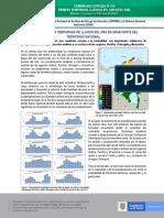 COMUNICADO ESPECIAL N°014 PRIMERA TEMPORADA LLUVIOSA DEL AÑO EN EL PAÍS
