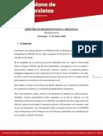 [Final -Convocatoria RECEM] Seminario de reflexión politico - ideológica