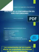 EFECTOS DE LA CONTAMINACÓN DEL AIRE POR EMISIONES
