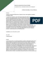 Concepto de psicosis cicloides- Monchablon. Pfuhlmann