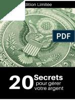 20 SECRETS POUR GERER SON ARGENT.pdf