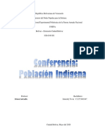 Poblacion Indigena- DIN iii