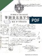 Passaporte Luigi Grando