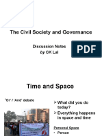 August 2015_Civil Society and Governance
