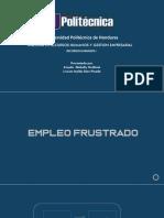 EMPLEO FRUSTRADO