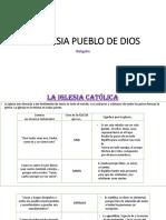 LA IGLESIA PUEBLO DE DIOS